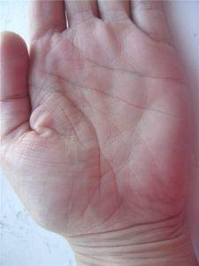 Значение линии переезда на руке
