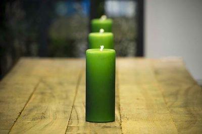 Три зеленые свечи