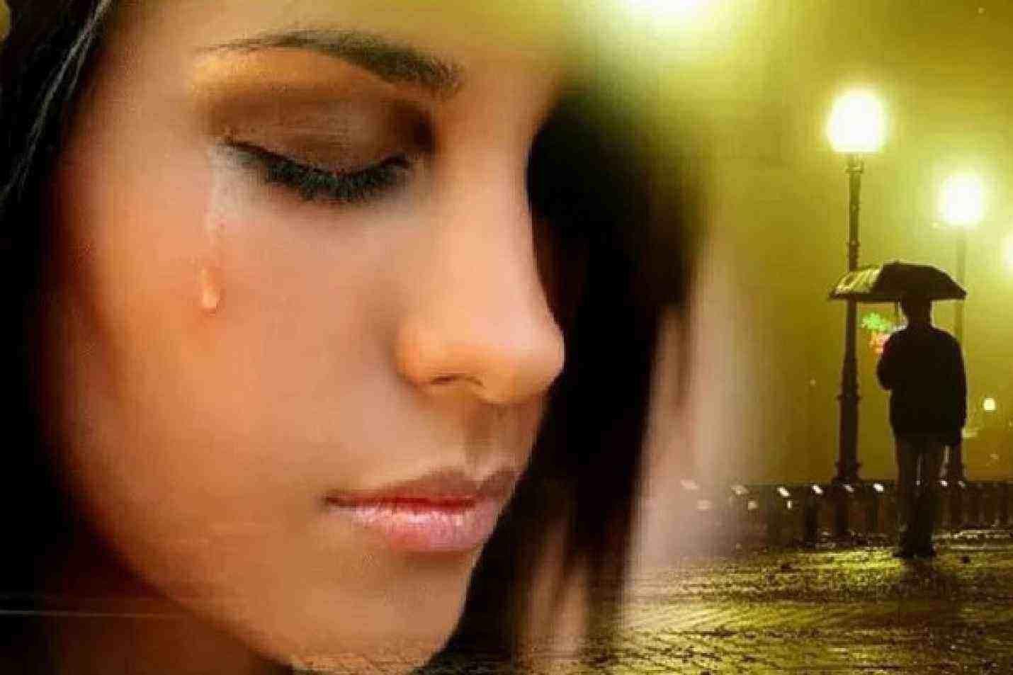 Как при заговоре на слезы стать счастливой