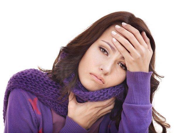 Молитва при воспалении горла