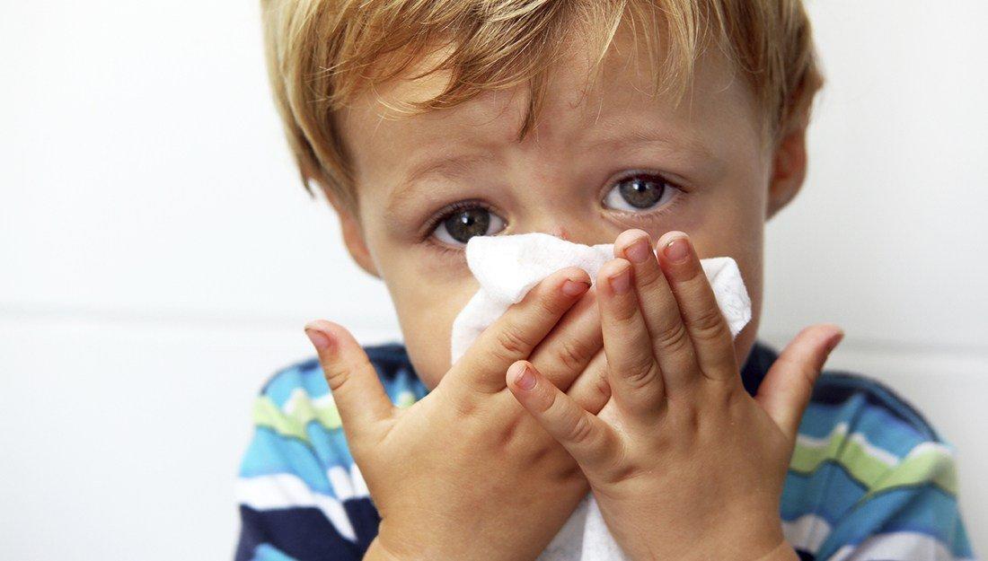 Молитва от гриппа у ребенка