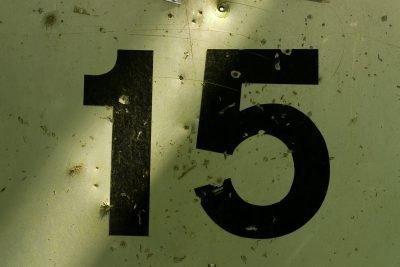Цифра 15