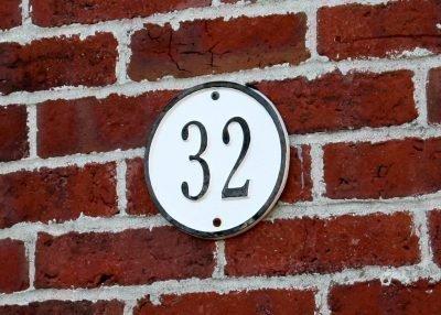 Номер дома 32