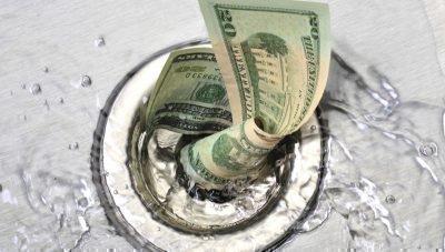 Растрата денег