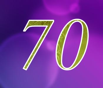 70 цифра
