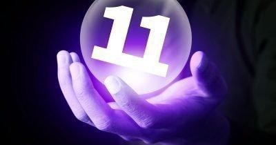 число 11