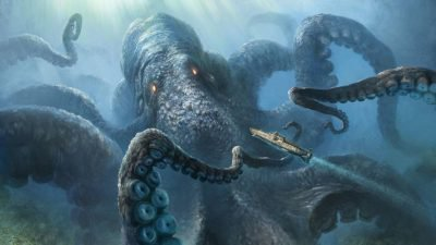 мифические существа морские