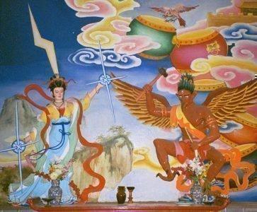 мужской дух в мифах китая