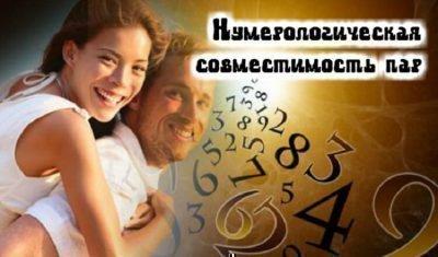 нумерология совместимость