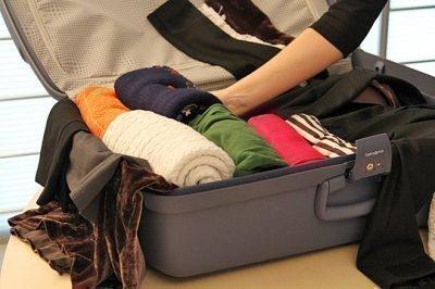 Пакование чемоданов