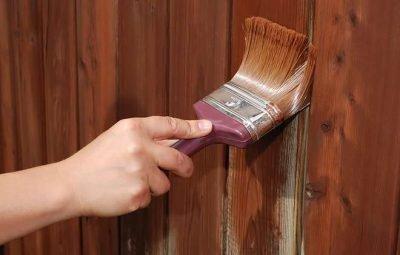 Перекрасить калитку