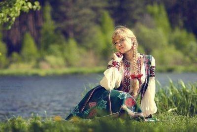 Славянская красавица