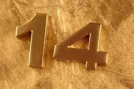 Толкование числа 14