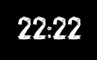 Значение комбинации 22:22 на часах и в датах