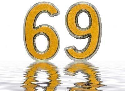 значение числа 69