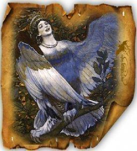 Птица Алконост
