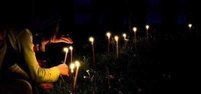 Ритуал на кладбище