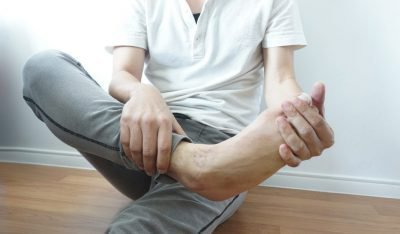 порча на ноги как определить