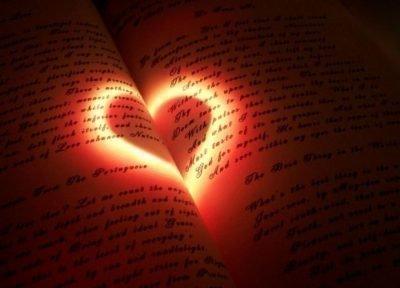 Сердце на книге