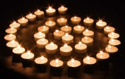 Снятие порчи со свечами