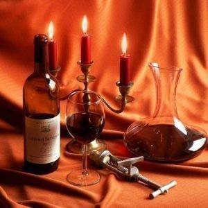 Приворот на вино