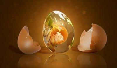 Определение на яйце
