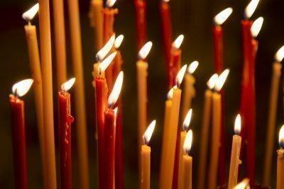 Обряд с 40 свечами