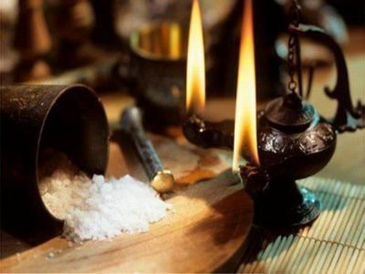 Очищение солью