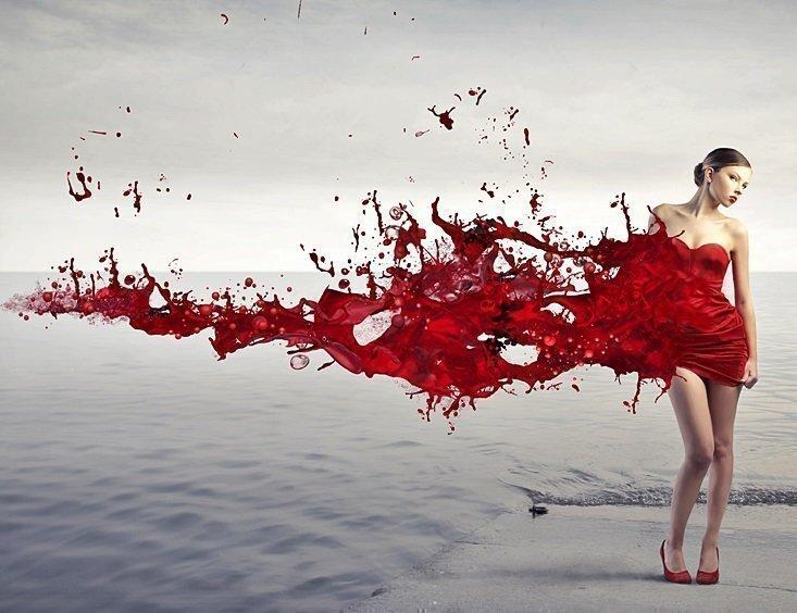 Приворот любимого на крови месячных