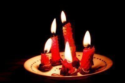 Приворот на 5 свечей