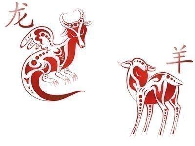 Дракон и Коза
