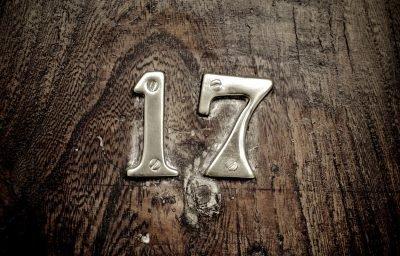 Цифра 17