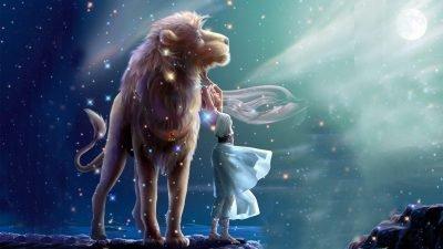 Дева и Лев
