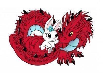 Дракон и Кролик