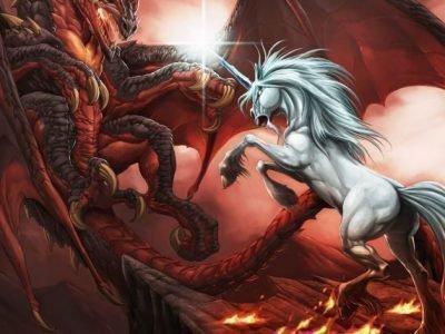 Дракон и лошадь