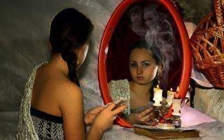 Технология гадания с зеркалом и свечкой в Новый год и Рождество в 2021 году