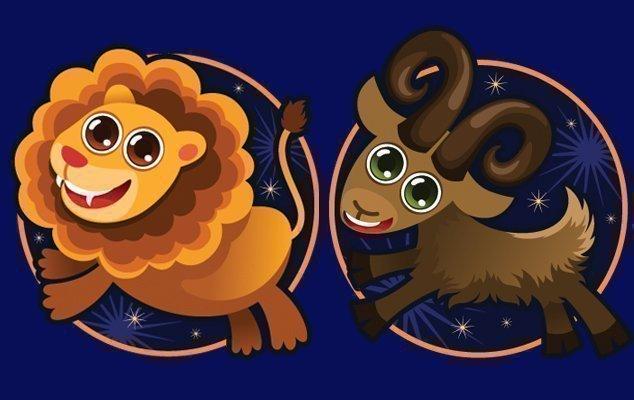 Совместимость знаков зодиака козерог и лев в процентах