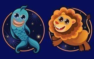Совместимость знаков Лев и Рыбы
