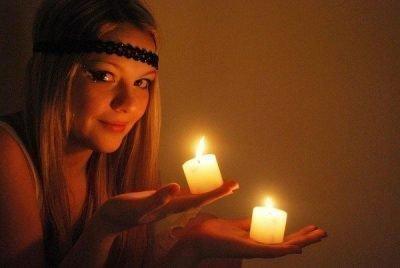 Ритуал на свечи