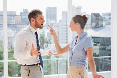 Ссора между коллегами