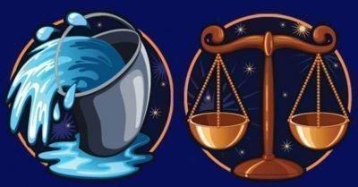 водолей и весы совместимость