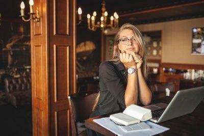 Женщина бизнесвумен
