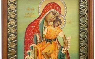 Чтение молитвы Киккской Божьей Матери