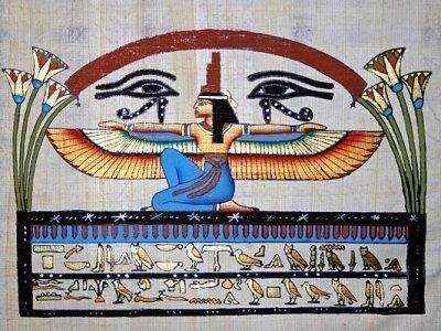 Два ока Гора и египтянин