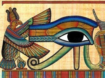 Сокол и око