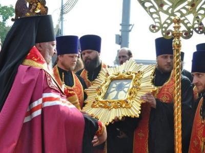 Поклонение иконе в Гомеле