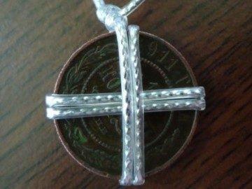 Амулет из старинной монеты