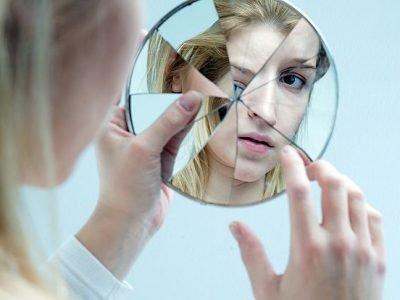 Разбитое зеркало - плохая примета