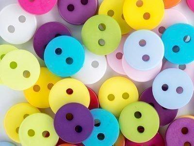 Цветные пуговицы