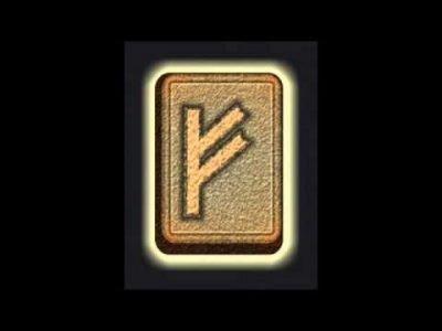Символ руны Феху